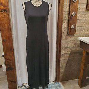 Ralph Lauren Sleeveless Long Black Dress M